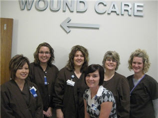 photo of Wound Care Center Team